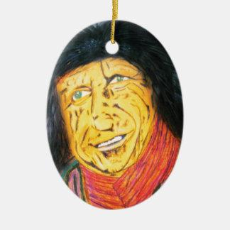 Ornamento De Cerâmica O balancim Wrinkly