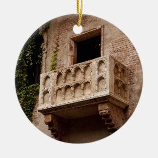 Ornamento De Cerâmica O balcão de Juliet