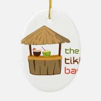 Ornamento De Cerâmica O bar de Tiki