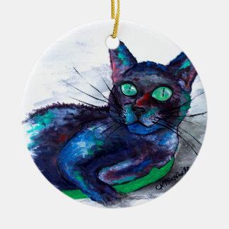 Ornamento De Cerâmica O Bonito Companheiro da tia, Senhora Biscoito