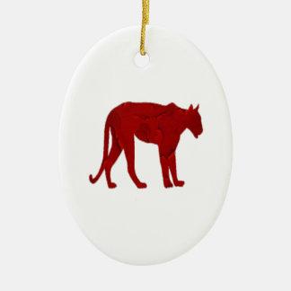 Ornamento De Cerâmica O caçador