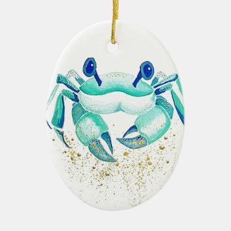 Ornamento De Cerâmica O caranguejo de Netuno