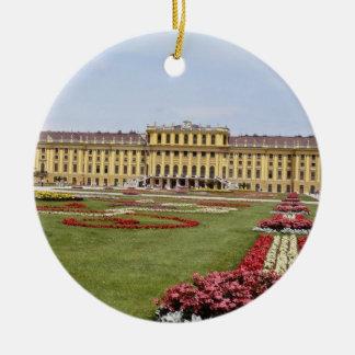 Ornamento De Cerâmica O castelo cor-de-rosa de Schonbrunn, Viena,