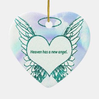 Ornamento De Cerâmica O céu tem um anjo novo