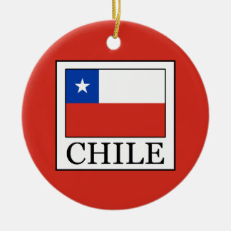 Ornamento De Cerâmica O Chile