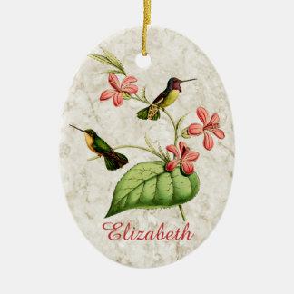 Ornamento De Cerâmica O colibri da costela