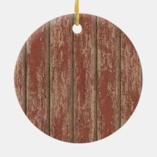 Ornamento De Cerâmica O conselho resistido oxidado