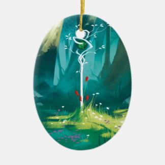 Ornamento De Cerâmica O coração da floresta