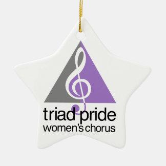 Ornamento De Cerâmica O coro Ordainment das mulheres do orgulho da