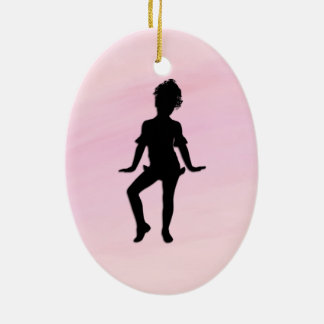 Ornamento De Cerâmica O dançarino pequeno o mais bonito