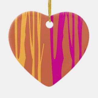Ornamento De Cerâmica O design alinha a EDIÇÃO do QUARTO da árvore