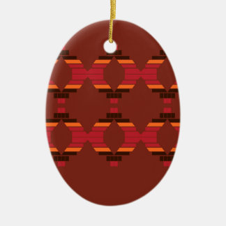 Ornamento De Cerâmica O design obstrui o chocolate étnico