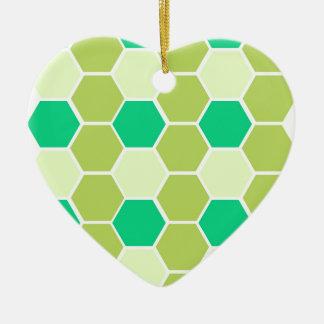 Ornamento De Cerâmica O design obstrui o eco verde