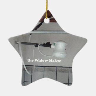 Ornamento De Cerâmica o fabricante da viúva