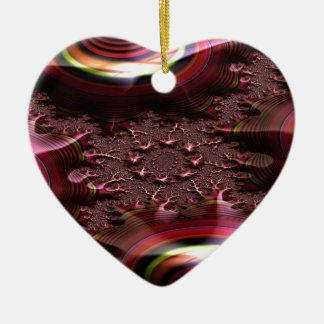 Ornamento De Cerâmica o fractal o mais constante do cais