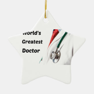 Ornamento De Cerâmica O grande doutor Projeto do mundo