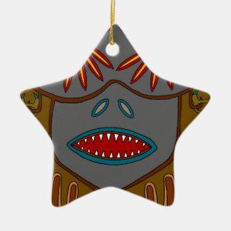 Ornamento De Cerâmica O Keymaster