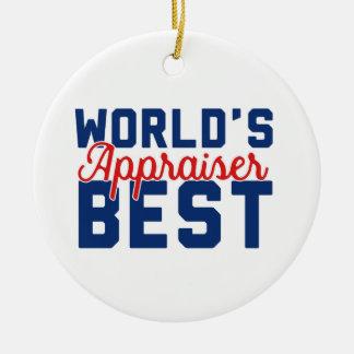 Ornamento De Cerâmica O melhor avaliador do mundo