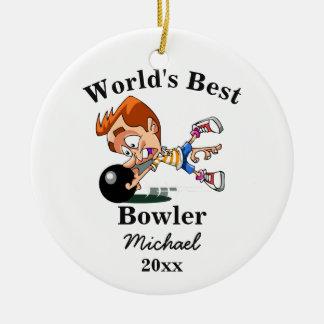 Ornamento De Cerâmica O melhor jogador do mundo