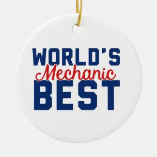Ornamento De Cerâmica O melhor mecânico do mundo