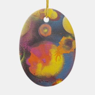 Ornamento De Cerâmica O Micro-Universo em desenvolvimento