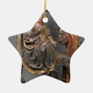 Ornamento De Cerâmica O milagre da palmeira no vôo Egipto