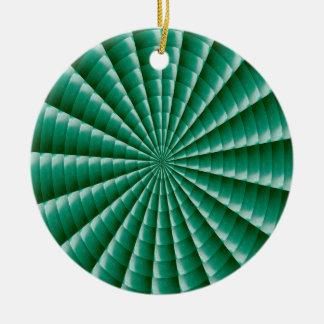 Ornamento De Cerâmica O MODELO VERDE de Chakra da roda adiciona o IMG de