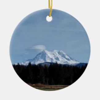 Ornamento De Cerâmica O Monte Rainier