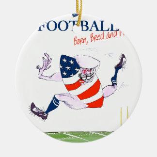Ornamento De Cerâmica O nascer do futebol produziu fernandes orgulhosos,