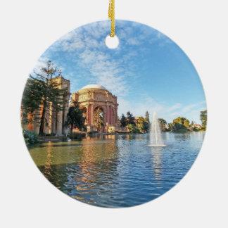Ornamento De Cerâmica O palácio das belas artes Califórnia