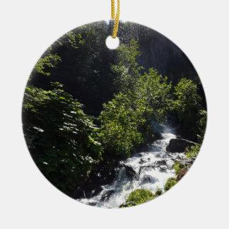 Ornamento De Cerâmica O pioneiro cai montículo Alaska