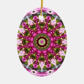 Ornamento De Cerâmica O primavera floresce, pica, Flor-Mandala, natureza