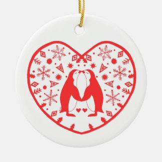 Ornamento De Cerâmica O primeiro Natal Ornament junto o presente feito