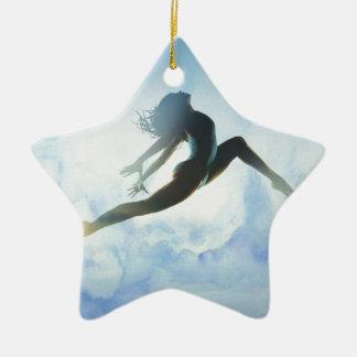 Ornamento De Cerâmica O pulo do dançarino