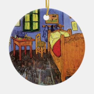 Ornamento De Cerâmica O quarto de Vincent em Arles por Vincent van Gogh