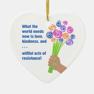 Ornamento De Cerâmica O que o mundo precisa agora
