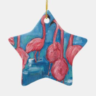 Ornamento De Cerâmica O rebanho