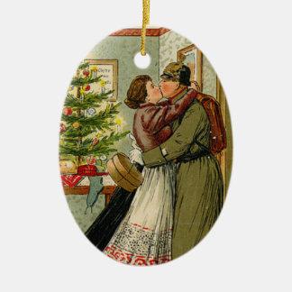 Ornamento De Cerâmica O retorno do soldado para Weihnachten
