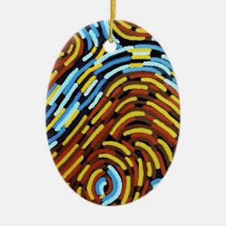 Ornamento De Cerâmica O rio