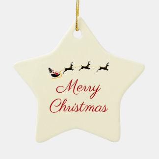 Ornamento De Cerâmica O tema do Natal mim