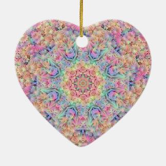 Ornamento De Cerâmica O teste padrão do Hippie Ornaments 6 formas
