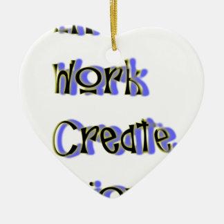 Ornamento De Cerâmica o trabalho vivo cria aprecia
