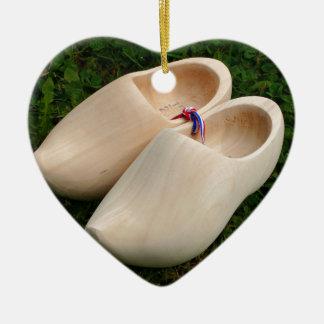 Ornamento De Cerâmica Obstruções de madeira holandesas