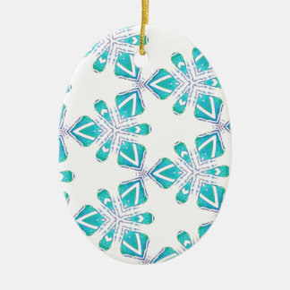 Ornamento De Cerâmica Oceano Kalidoscope