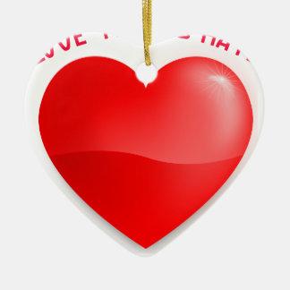 Ornamento De Cerâmica ódio dos trunfos do amor