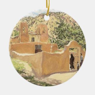 Ornamento De Cerâmica Oferta Para San Esquipula por Walter Ufer