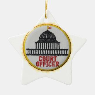 Ornamento De Cerâmica Oficial da corte