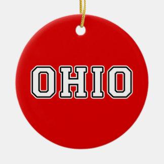 Ornamento De Cerâmica Ohio