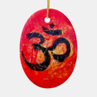 Ornamento De Cerâmica Ohm