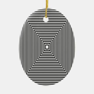 Ornamento De Cerâmica Olhar de túnel
